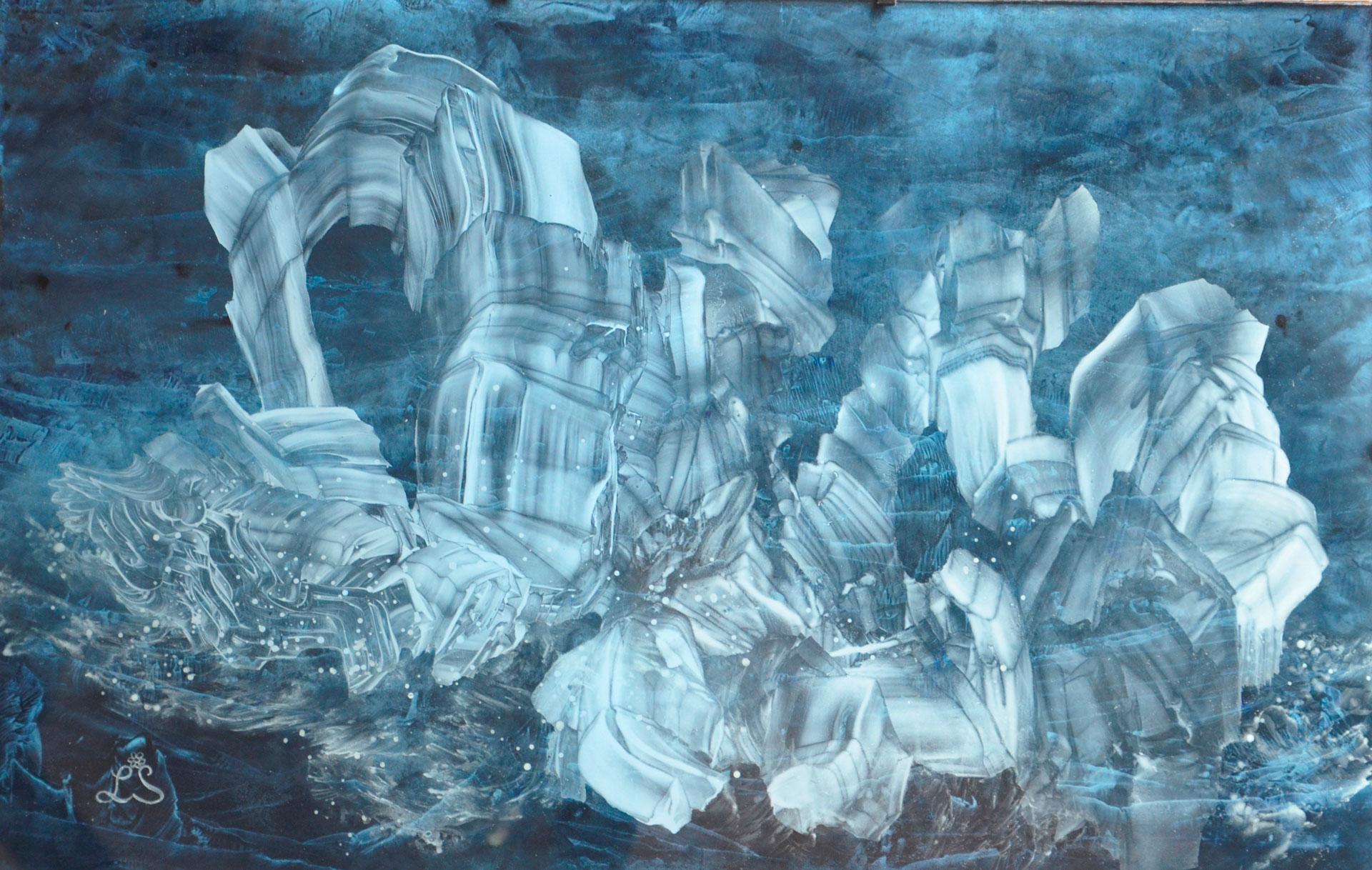 Glacier-vibrant-d'amour